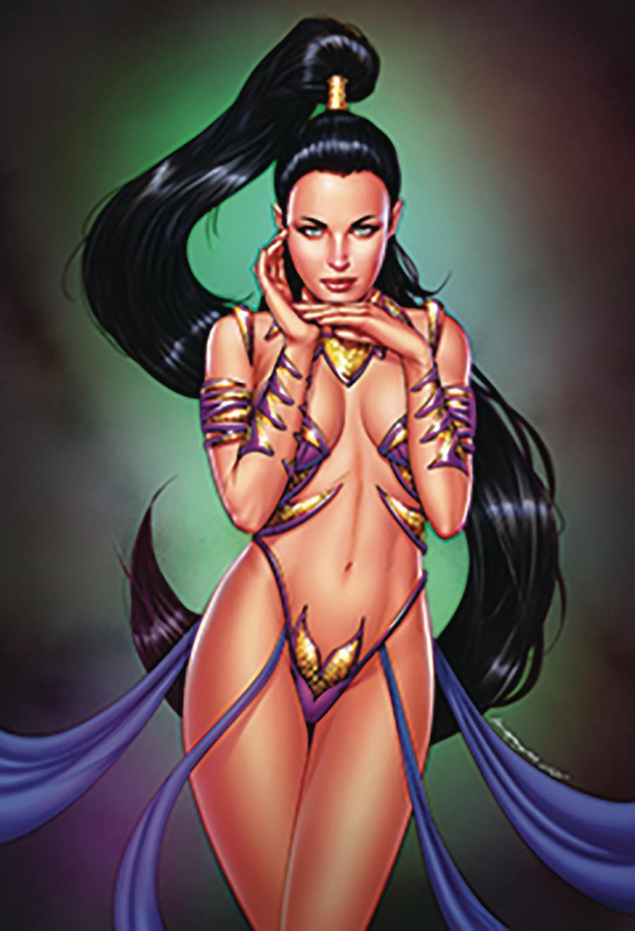 Grimm Fairy Tales Presents Jasmine Crown Of Kings #1 Cover C Kevin McCoy