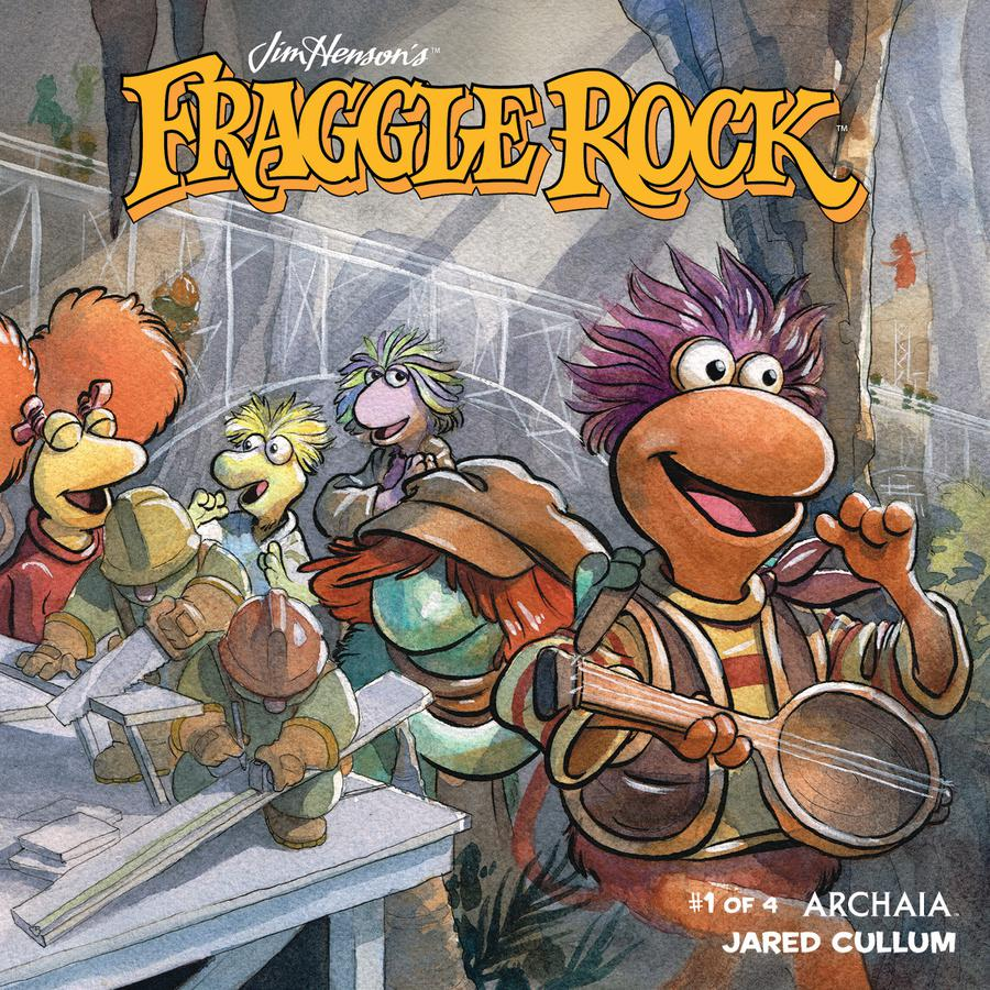 Jim Hensons Fraggle Rock #1 Cover A Regular Jared Cullum Cover