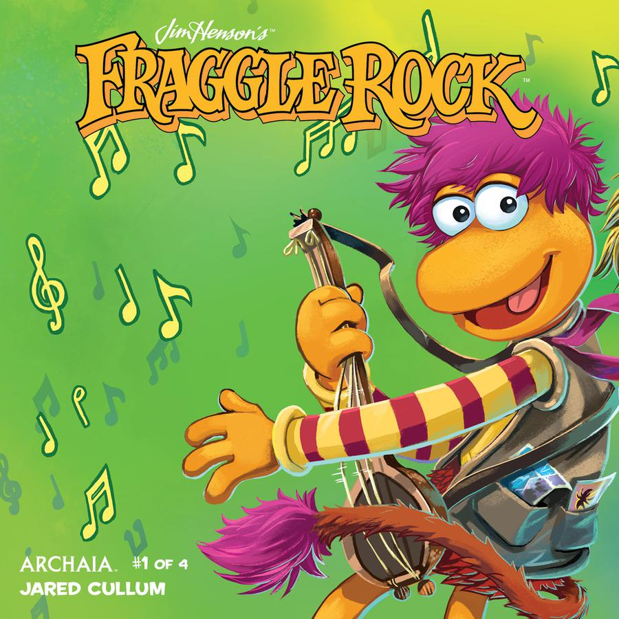 Jim Hensons Fraggle Rock #1 Cover B Variant Jake Myler Connecting Subscription Cover