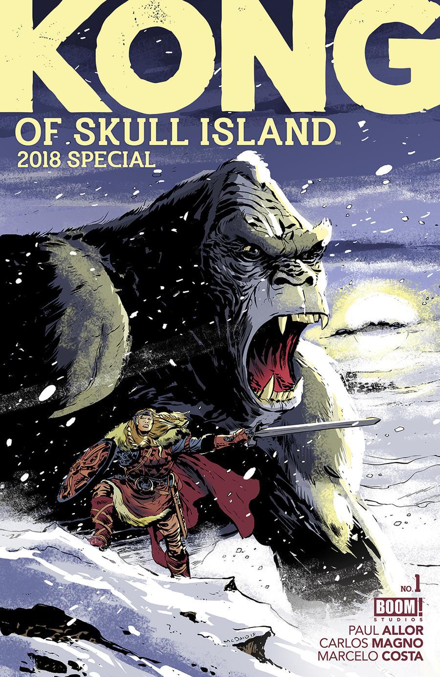 Kong Of Skull Island 2018 Special #1 Cover A Regular Dan McDaid Cover