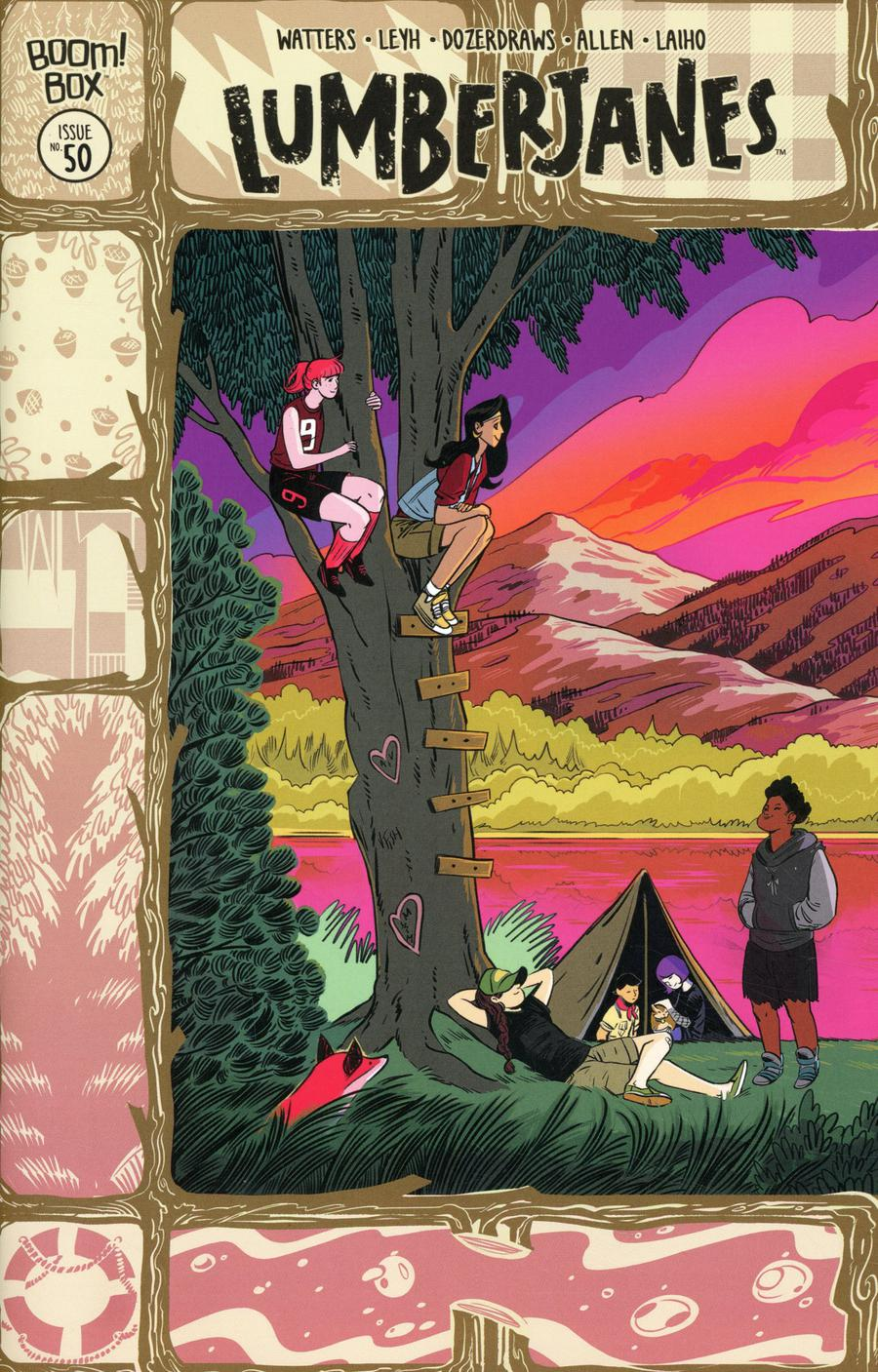 Lumberjanes #50 Cover B Variant Veronica Fish Subscription Cover