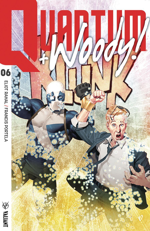 Quantum & Woody Vol 4 #6 Cover A Regular Ariel Olivetti Cover (Harbinger Wars 2 Tie-In)