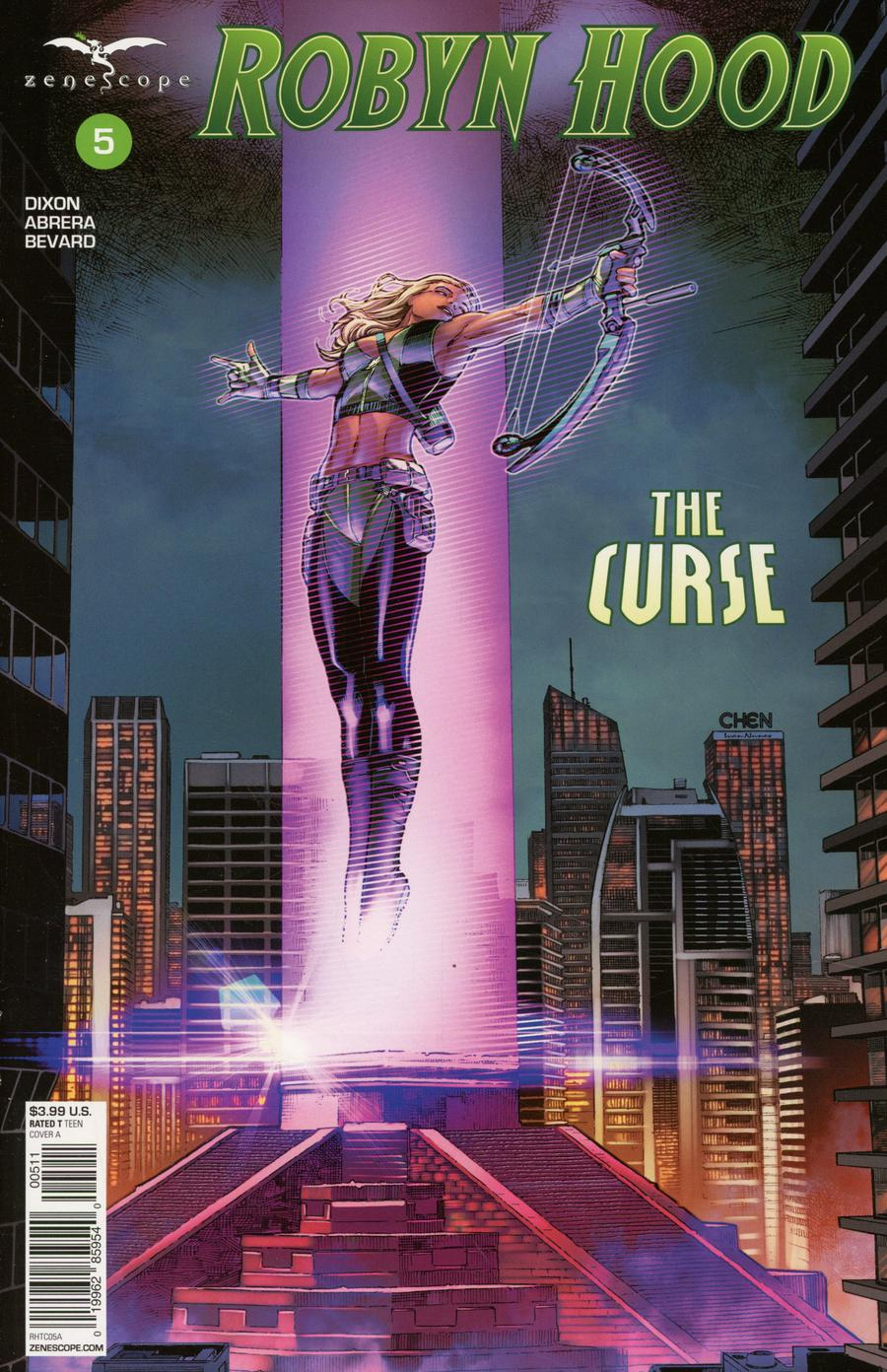 Grimm Fairy Tales Presents Robyn Hood The Curse #5 Cover A Sean Chen