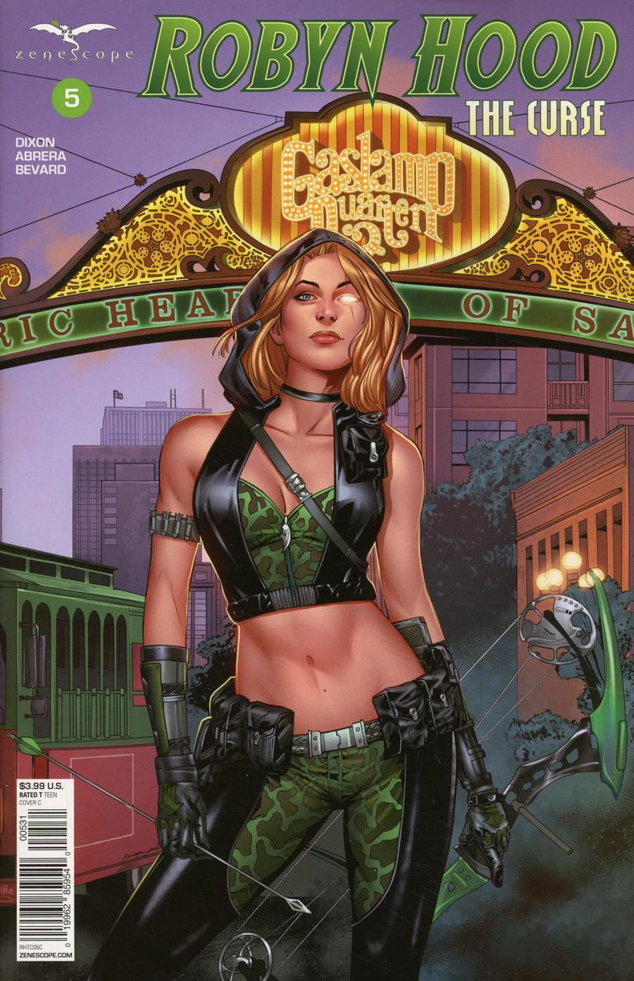 Grimm Fairy Tales Presents Robyn Hood The Curse #5 Cover C Kevin McCoy