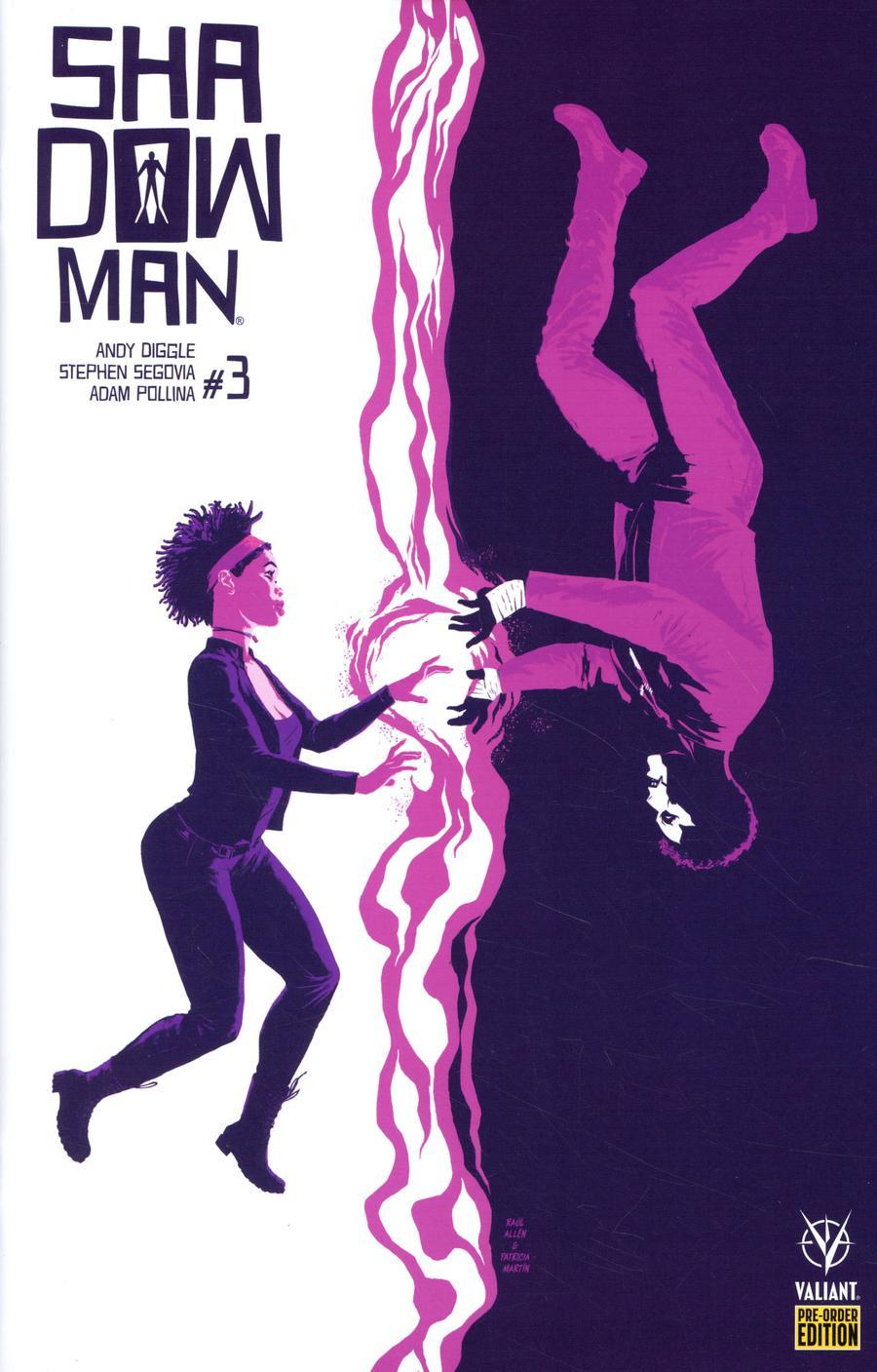 Shadowman Vol 5 #3 Cover C Variant Raul Allen Cover