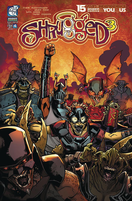 Shrugged Vol 3 #4 Cover A Regular Andre Risso Cover