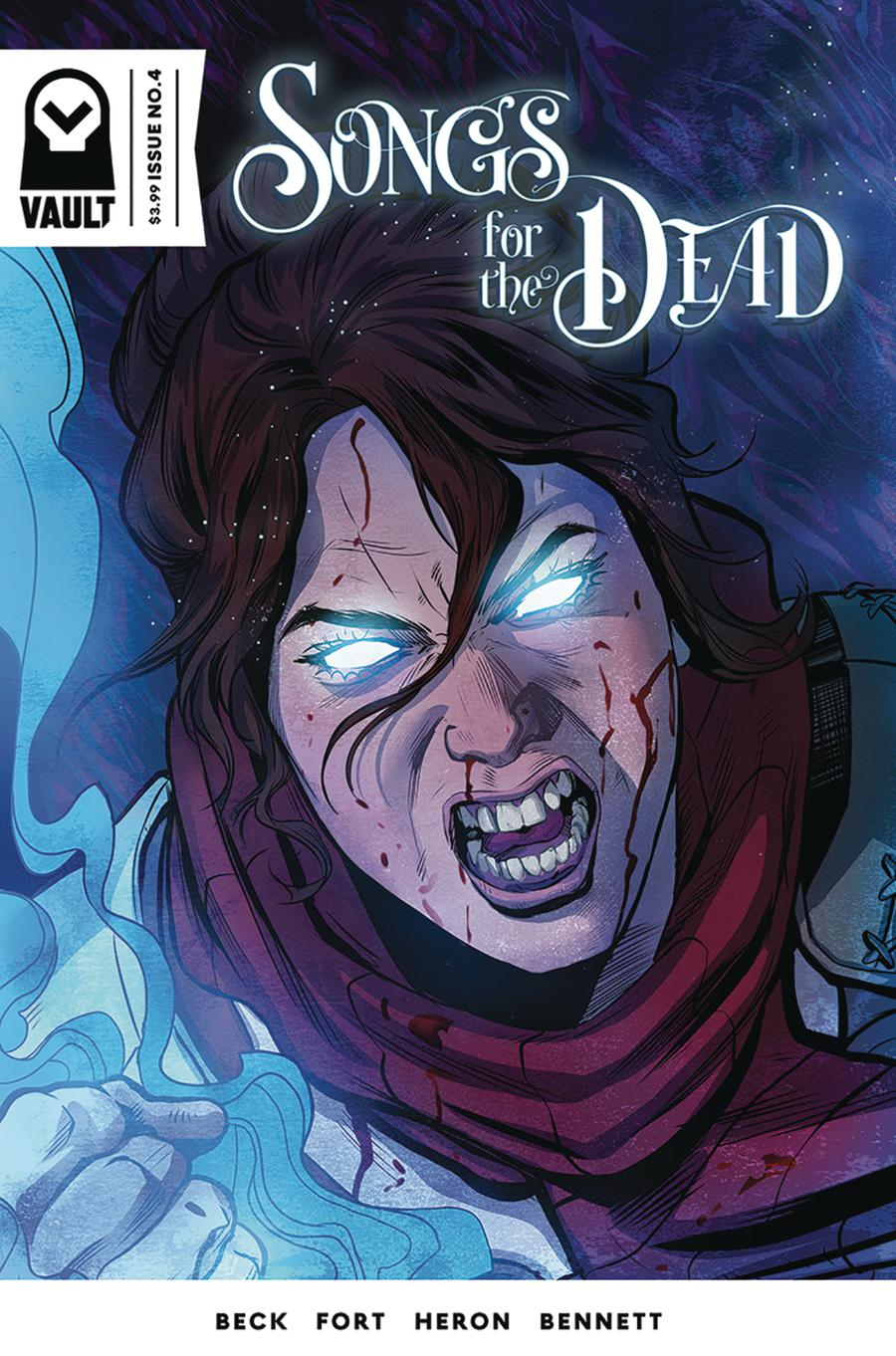 Songs For The Dead #4 Cover B Variant Nick Robles Cover