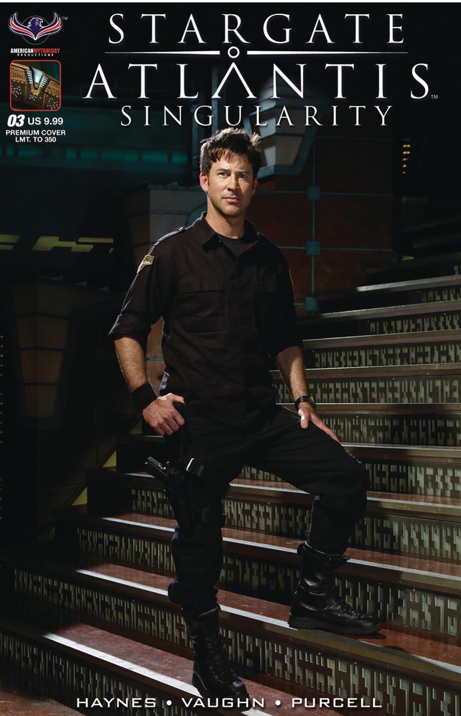 Stargate Atlantis Singularity #3 Cover C Variant Premium Flashback Photo Limited Edition Cover