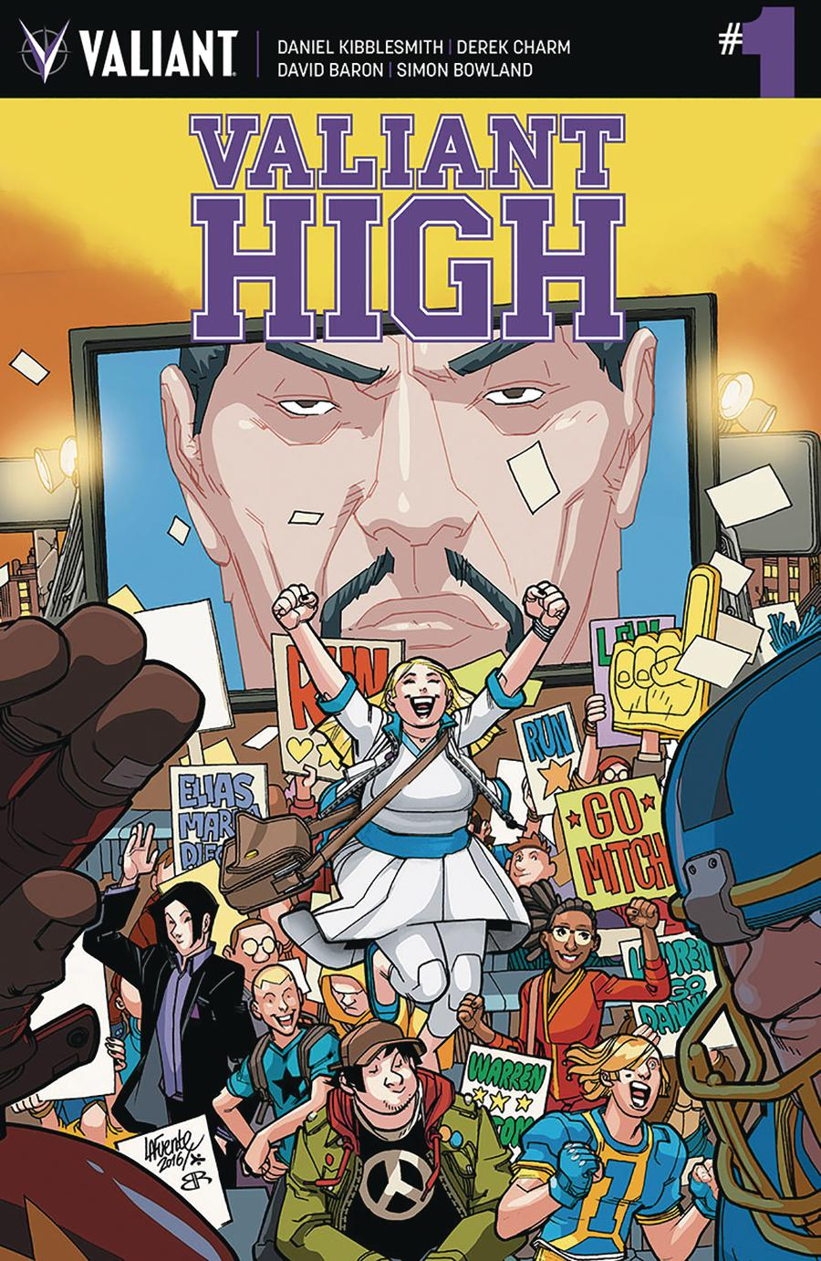 Valiant High #1 Cover A Regular David Lafuente Cover
