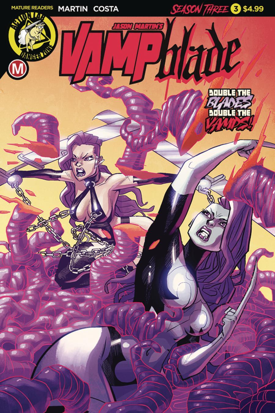 Vampblade Season 3 #3 Cover A Regular Marcello Costa Cover