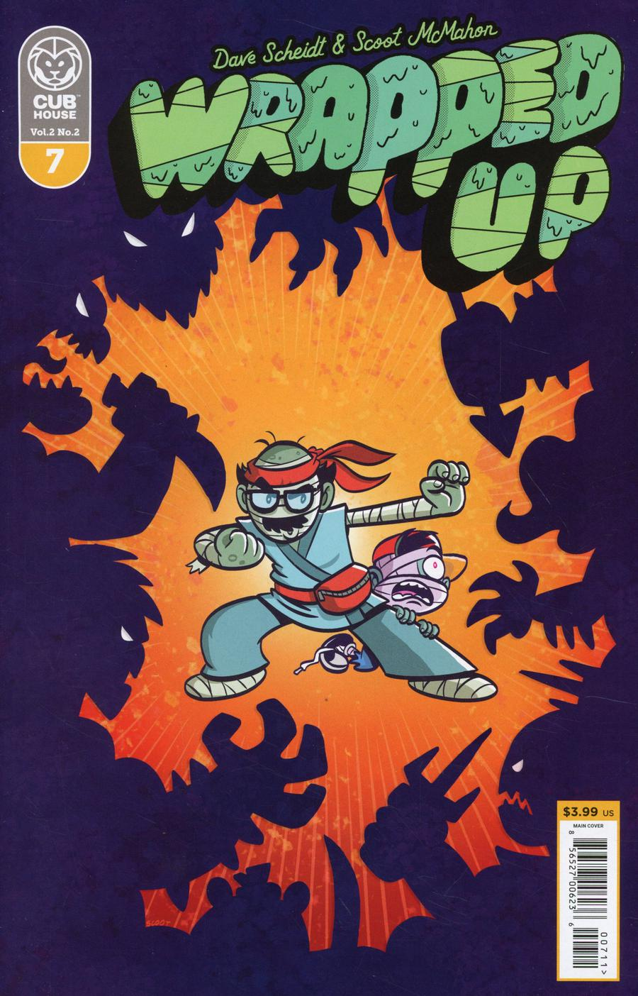 Wrapped Up #7 Cover A Regular Scoot McMahon Cover