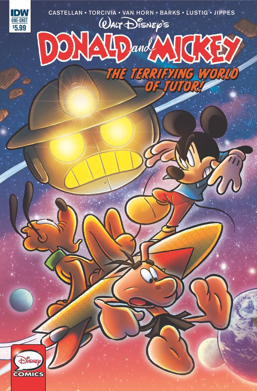 Donald & Mickey Quarterly #4 Cover A Regular Andrea Freccero Cover