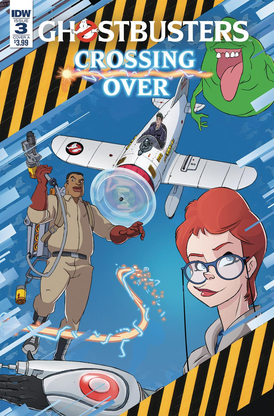 Ghostbusters Crossing Over #3 Cover A Regular Dan Schoening Cover