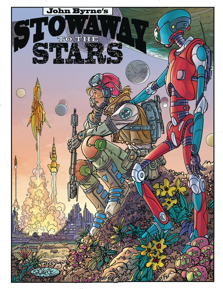 John Byrnes Stowaway To The Stars #1 Special Edition