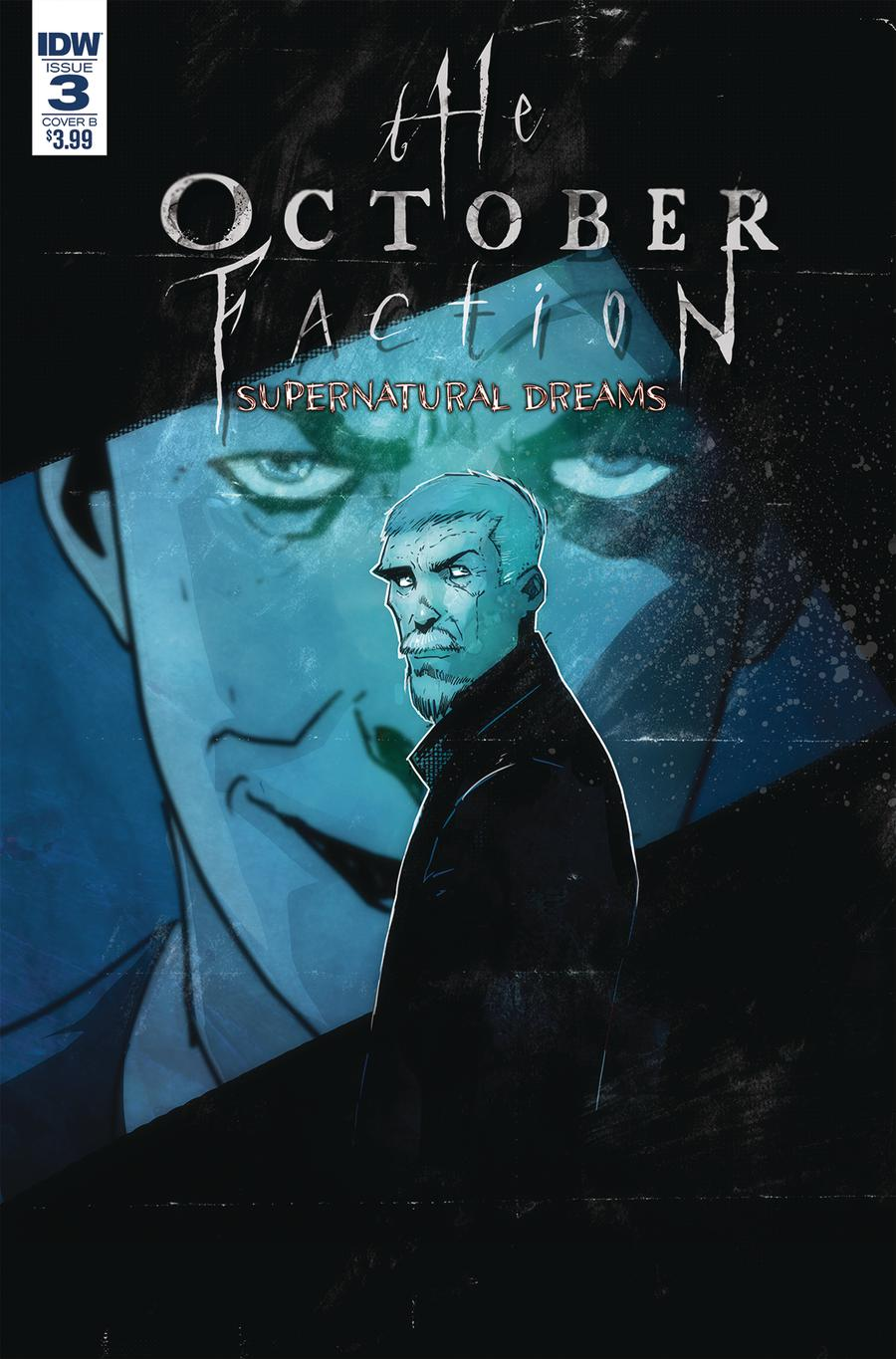 October Faction Supernatural Dreams #3 Cover B Variant Damien Worm Cover