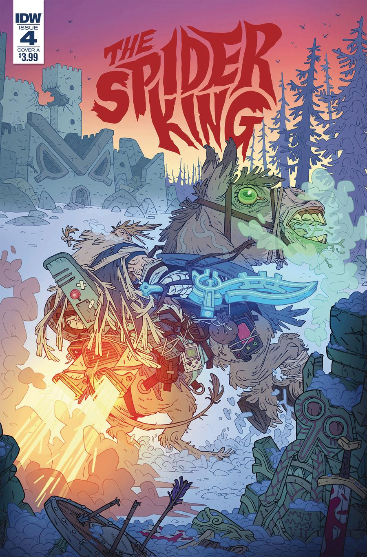 Spider King #4 Cover A Regular Simone Darmini Cover