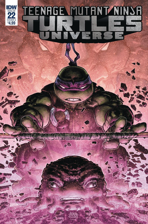 Teenage Mutant Ninja Turtles Universe #22 Cover A Regular Freddie E Williams II Cover