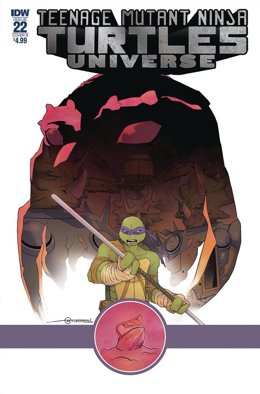 Teenage Mutant Ninja Turtles Universe #22 Cover B Variant Mark Torres Cover