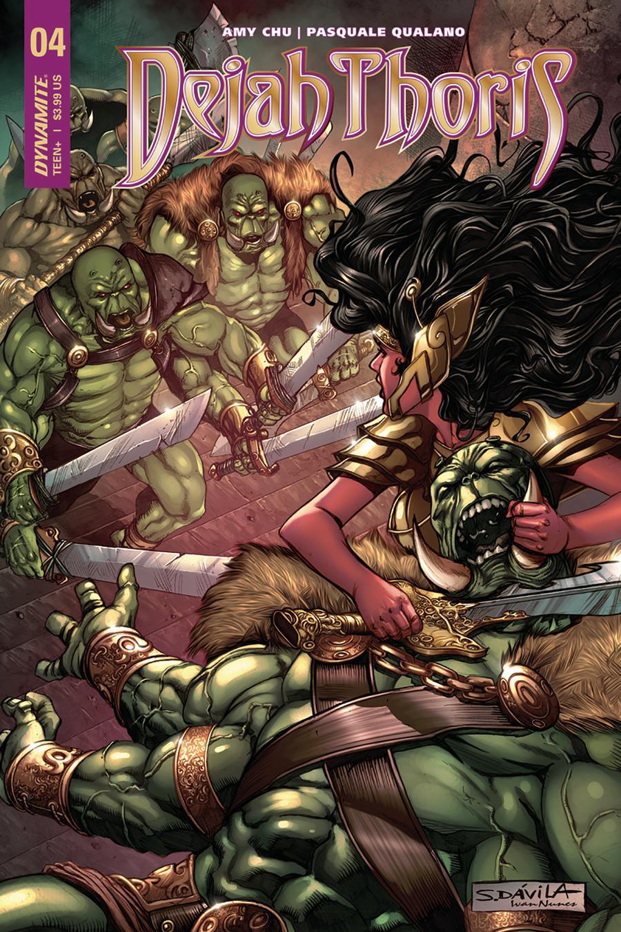 Dejah Thoris Vol 2 #4 Cover C Variant Sergio Davila Cover