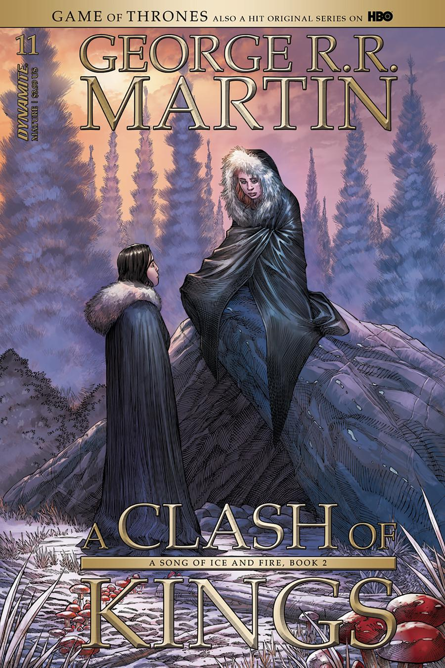Game Of Thrones Clash Of Kings #11 Cover A Regular Mike Miller Cover