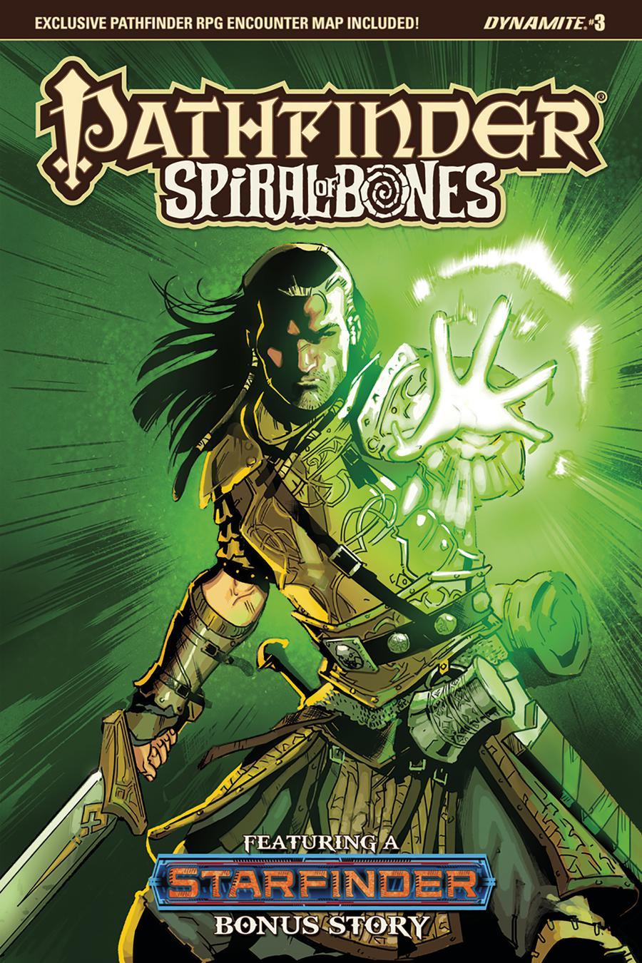 Pathfinder Spiral Of Bones #3 Cover B Variant Diego Galindo Cover
