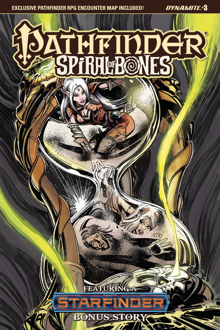 Pathfinder Spiral Of Bones #3 Cover C Variant Tom Mandrake Cover