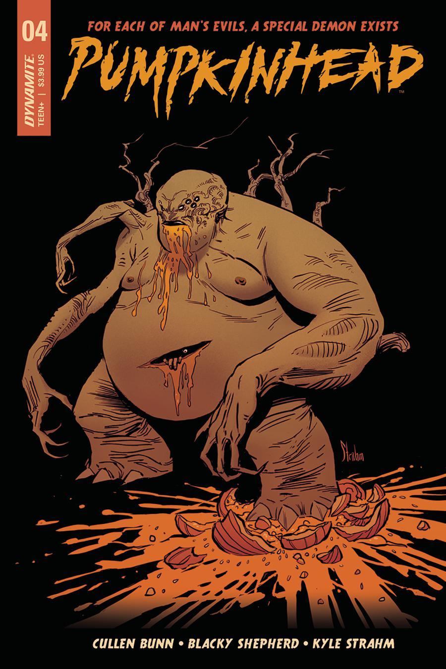 Pumpkinhead #4 Cover A Regular Kyle Strahm Cover