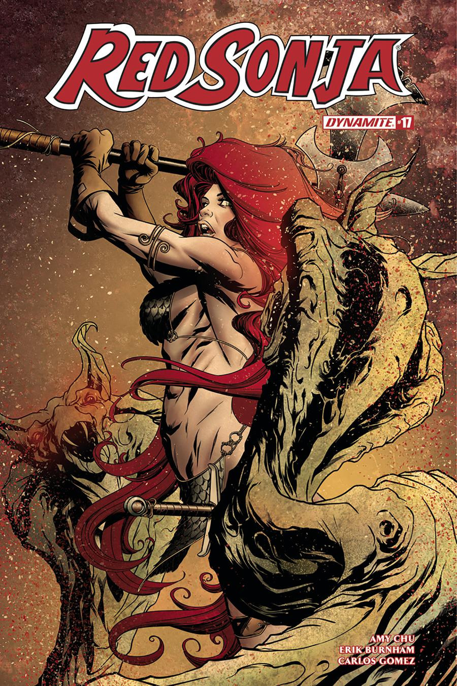 Red Sonja Vol 7 #17 Cover A Regular Mike McKone Cover