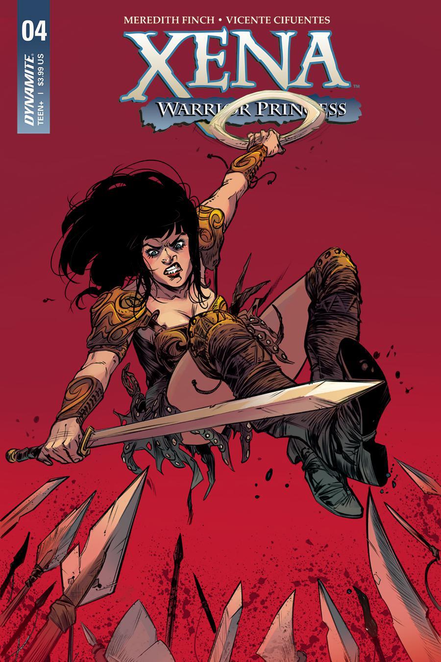 Xena Vol 2 #4 Cover A Regular Ig Guara Cover