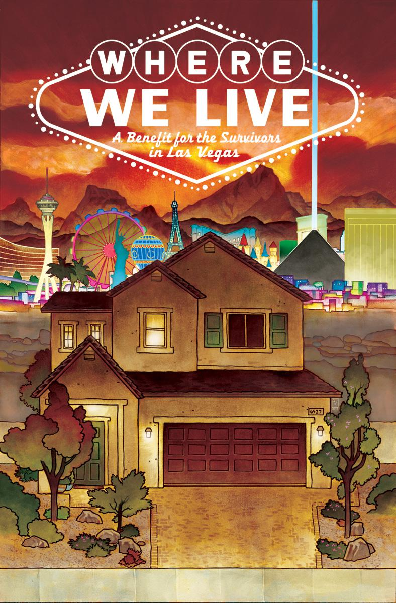 Where We Live A Benefit For The Survivors In Las Vegas TP