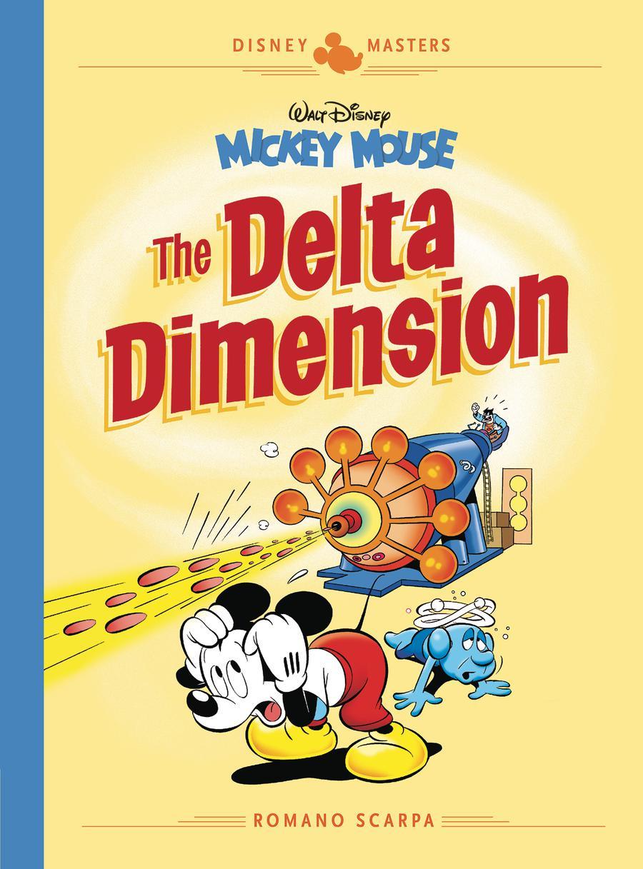Disney Masters Vol 1 Romano Scarpa Walt Disneys Mickey Mouse Delta Dimension HC