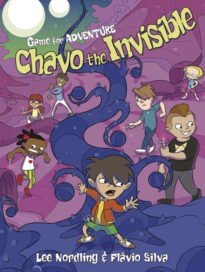 Game For Adventure Vol 3 Chavo The Invisible GN