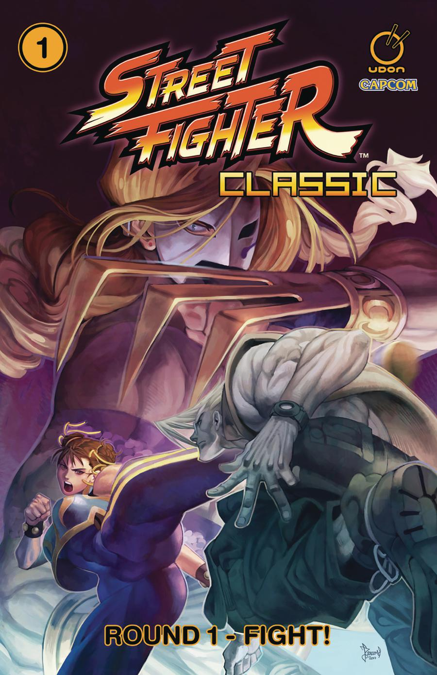 Street Fighter Classic Vol 1 Round 1 Fight TP