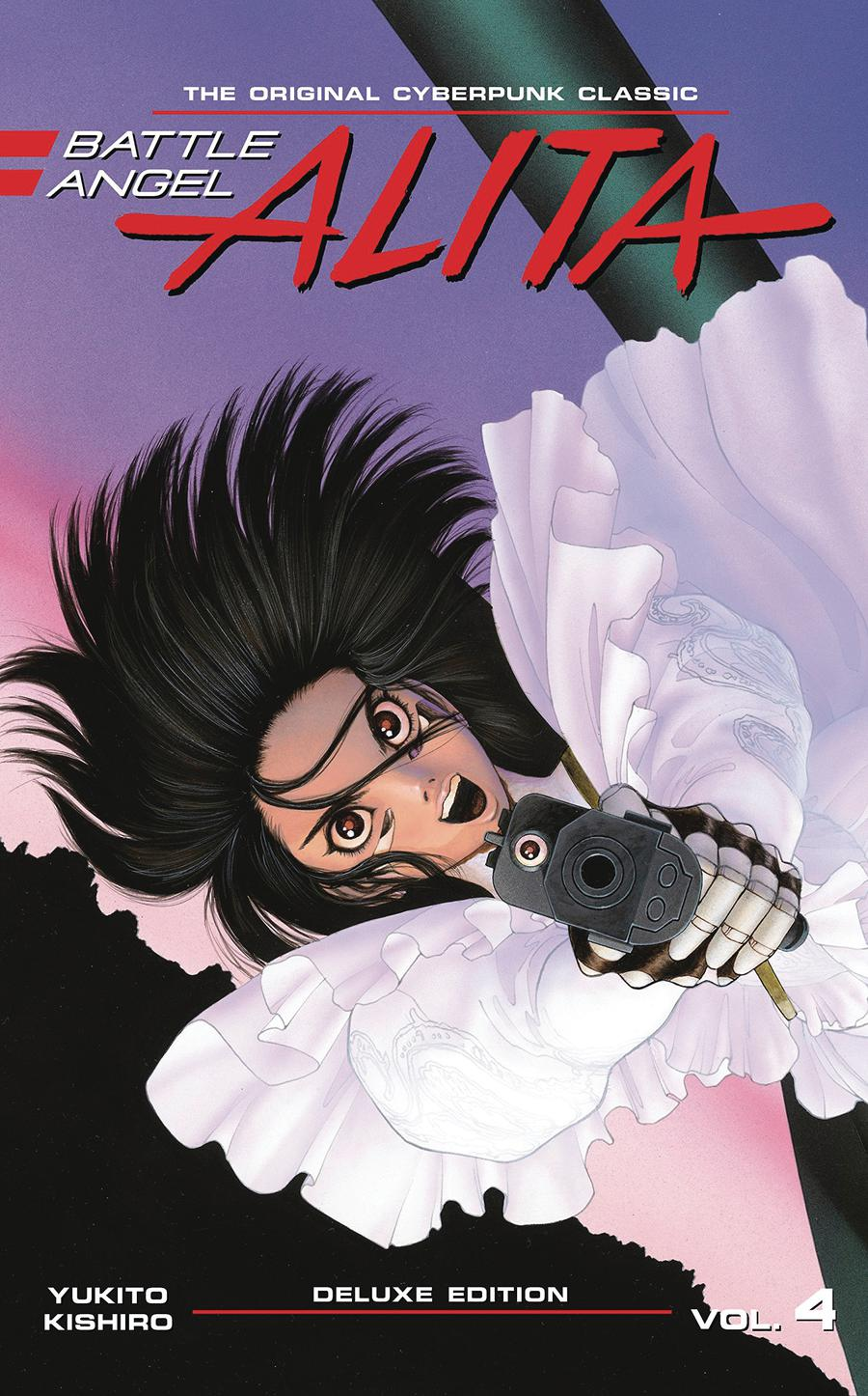 Battle Angel Alita Deluxe Edition Vol 4 HC