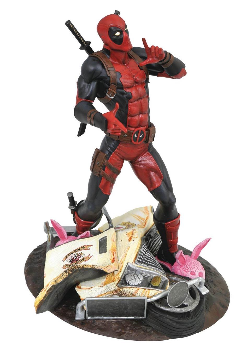 Marvel Gallery Deadpool Taco Truck PVC Diorama Statue