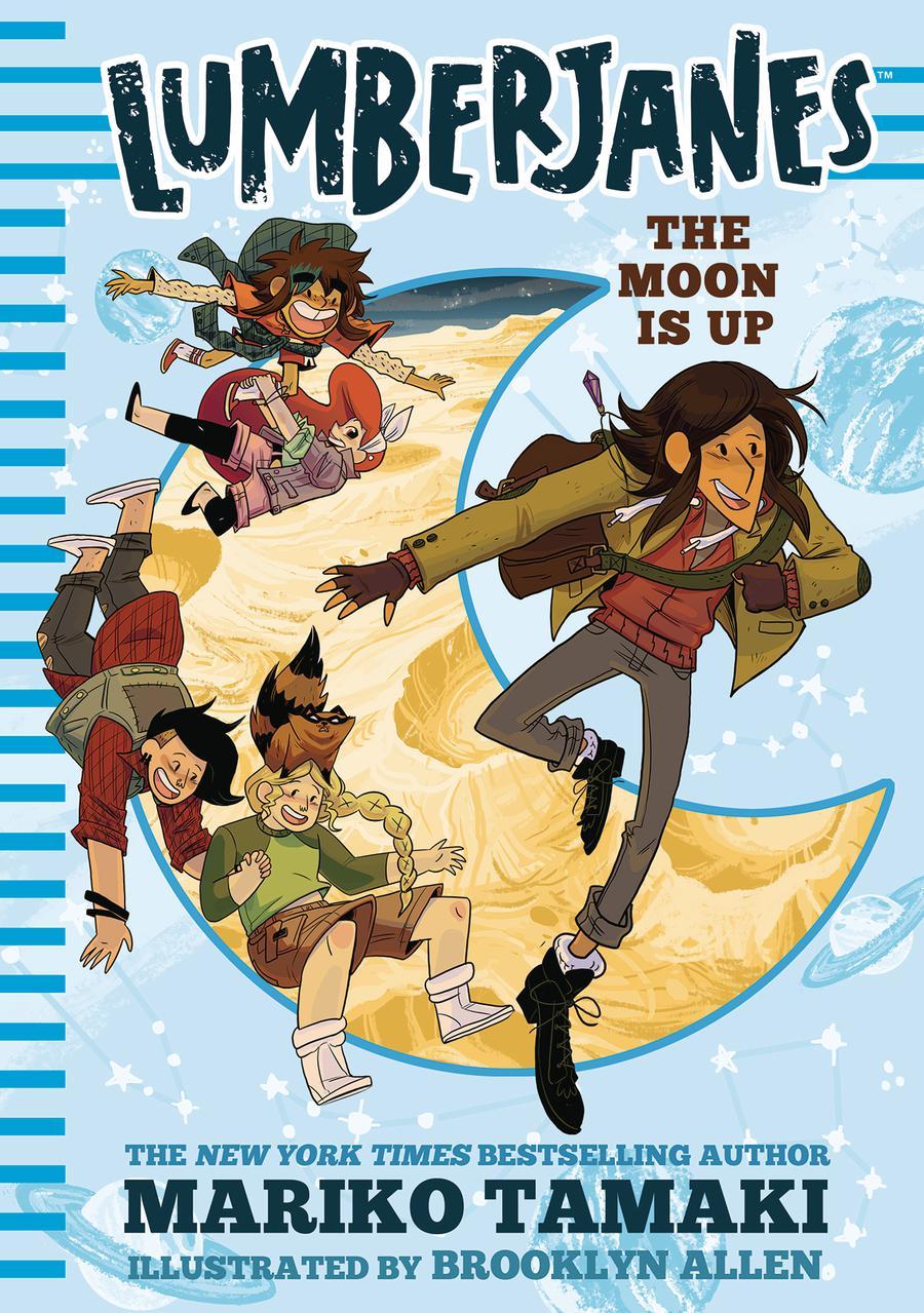 Lumberjanes Illustrated Novel Vol 2 Moon Is Up HC