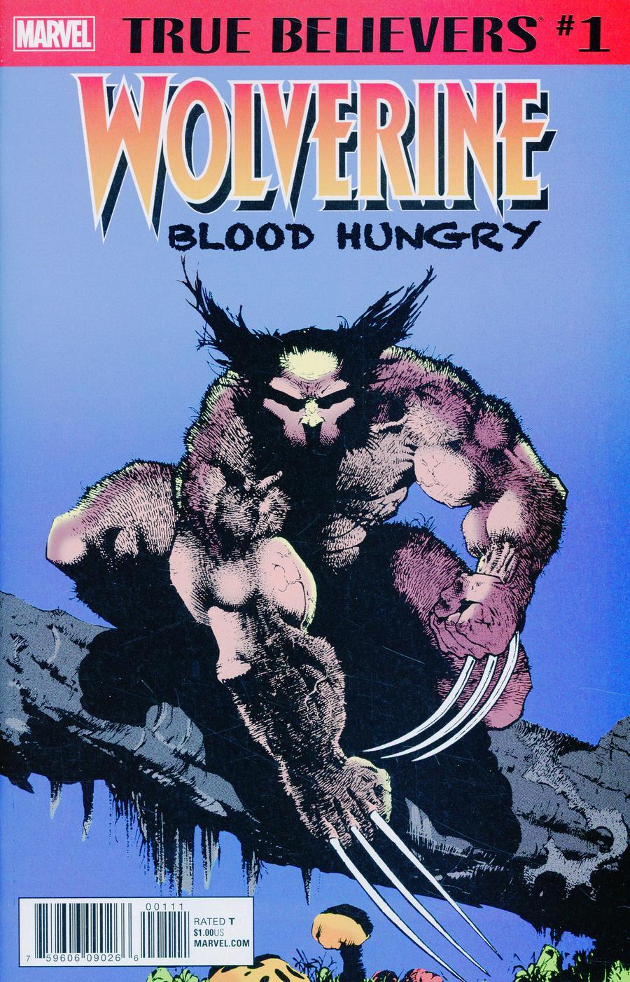 True Believers Wolverine Blood Hungry #1