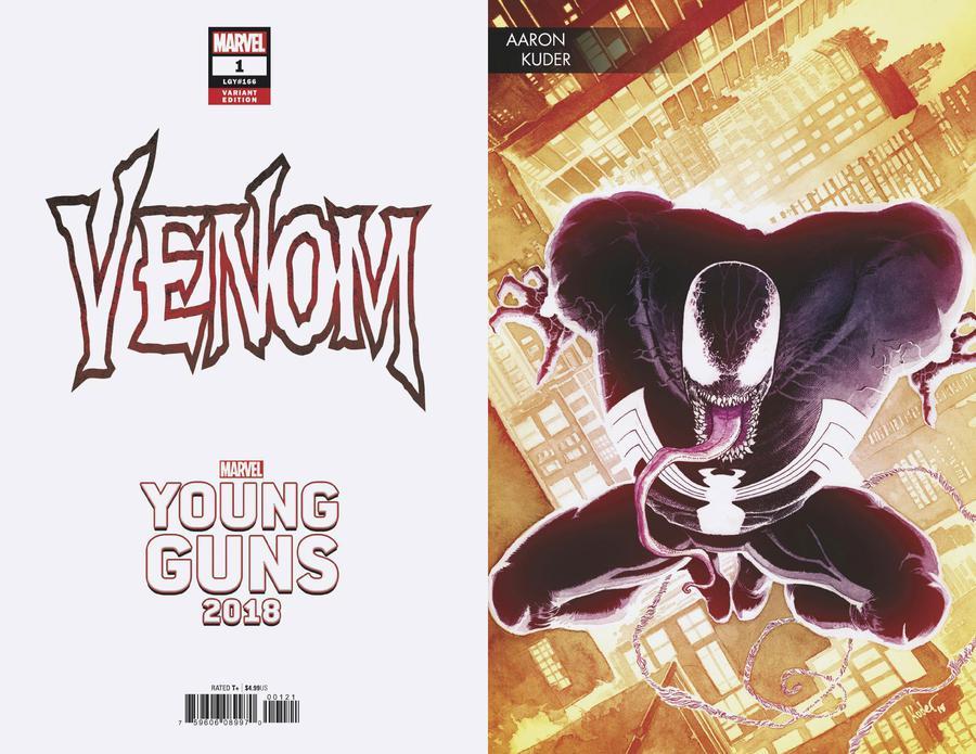 Venom Vol 4 #1 Cover B Variant Aaron Kuder Young Guns Cover