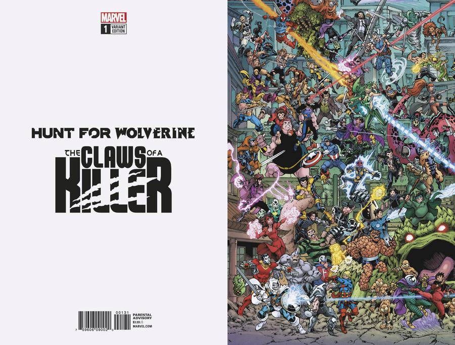 Hunt For Wolverine Claws Of A Killer #1 Cover C Variant Todd Nauck Wheres Wolverine Connecting Cover (3 Of 4)