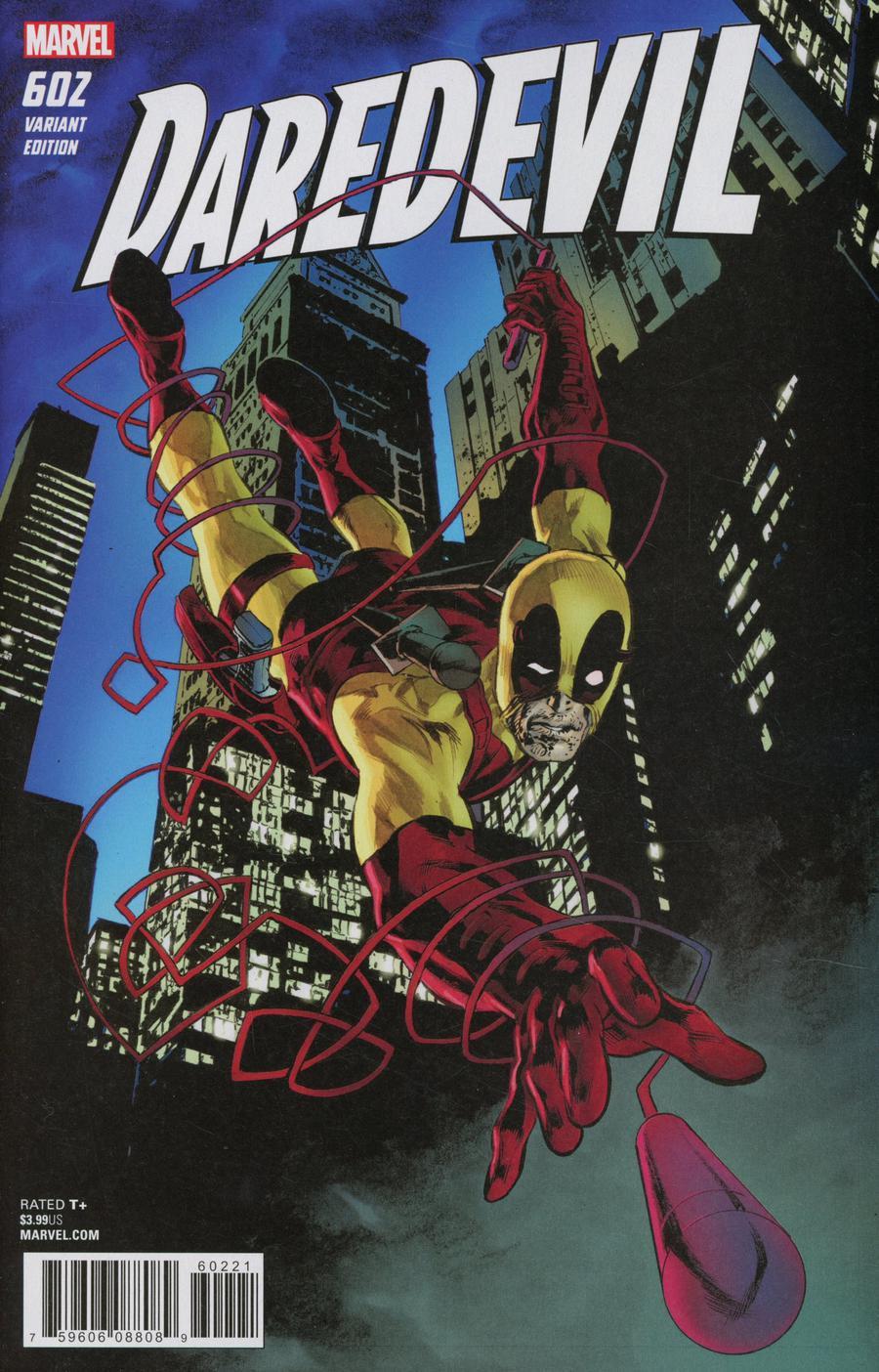 Daredevil Vol 5 #602 Cover B Variant Mike Perkins Deadpool Cover