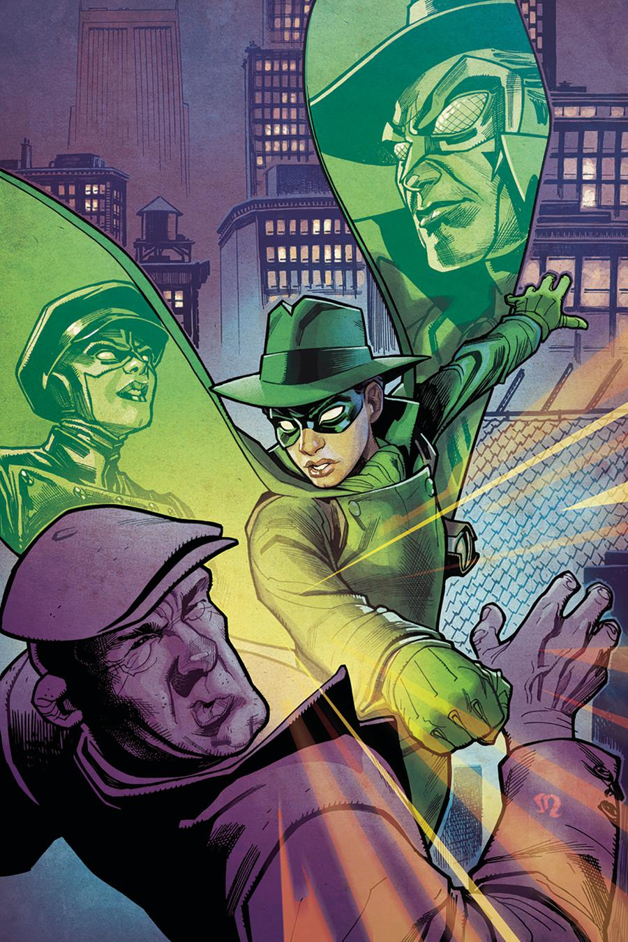 Green Hornet Vol 4 #3 Cover D Incentive Stephane Roux Virgin Cover