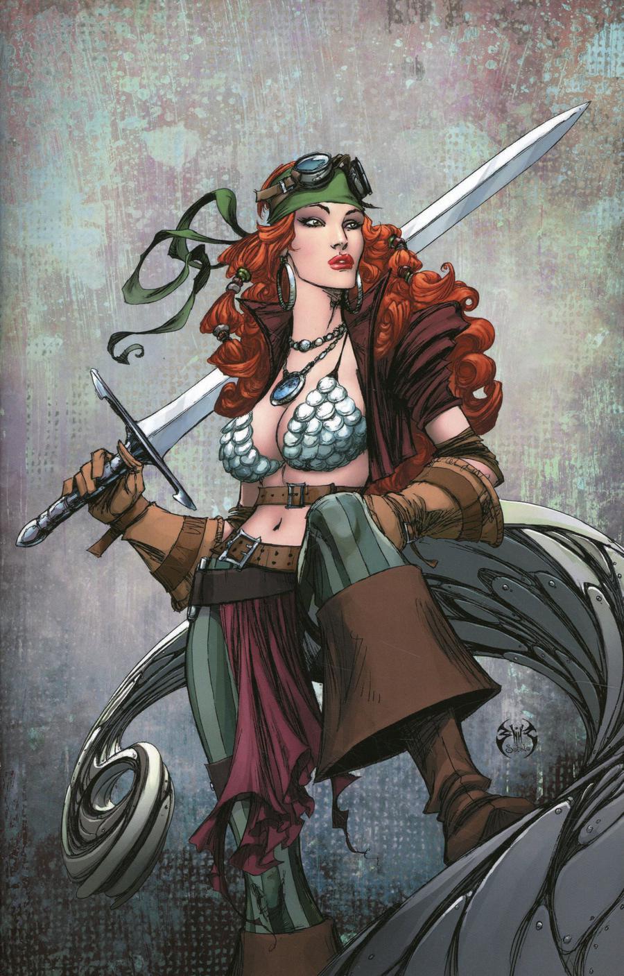 Legenderry Red Sonja Vol 2 #4 Cover C Incentive Joe Benitez Virgin Cover
