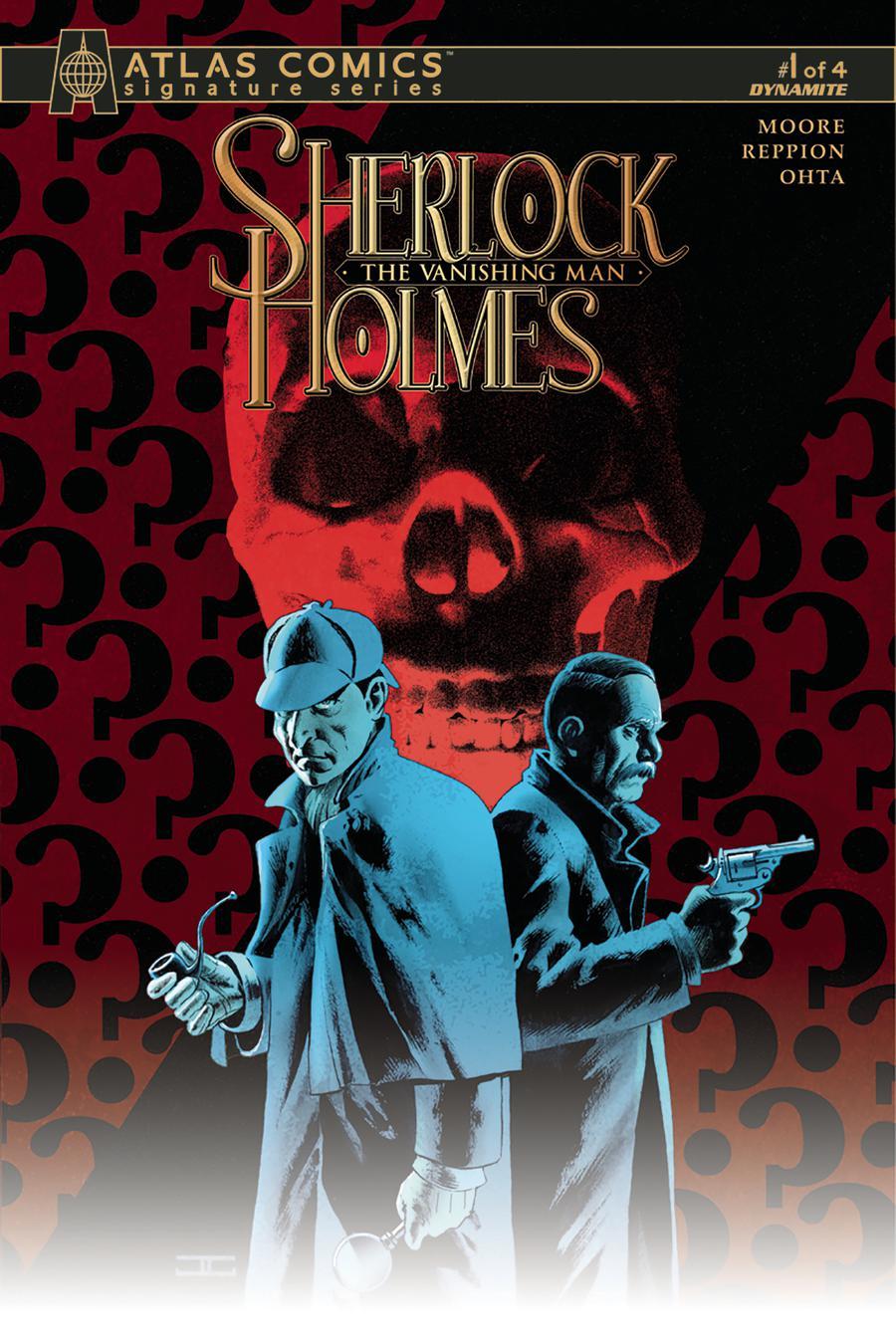Sherlock Holmes Vanishing Man #1 Cover D Atlas Comics Signature Series Signed By John Cassaday