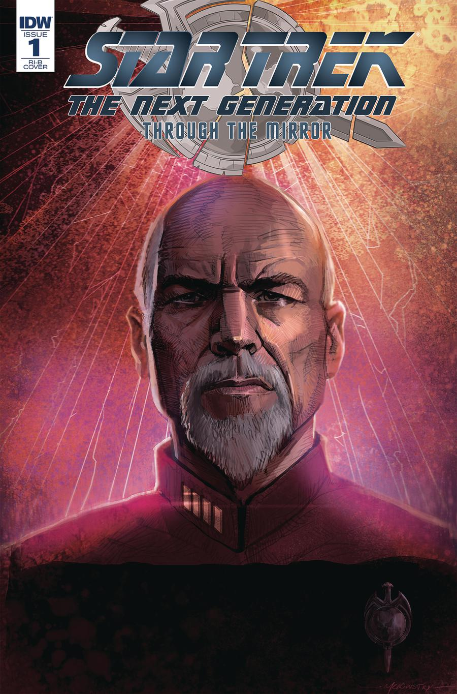 Star Trek The Next Generation Through The Mirror #1 Cover D Incentive Peter McKinstry Portrait Variant Cover