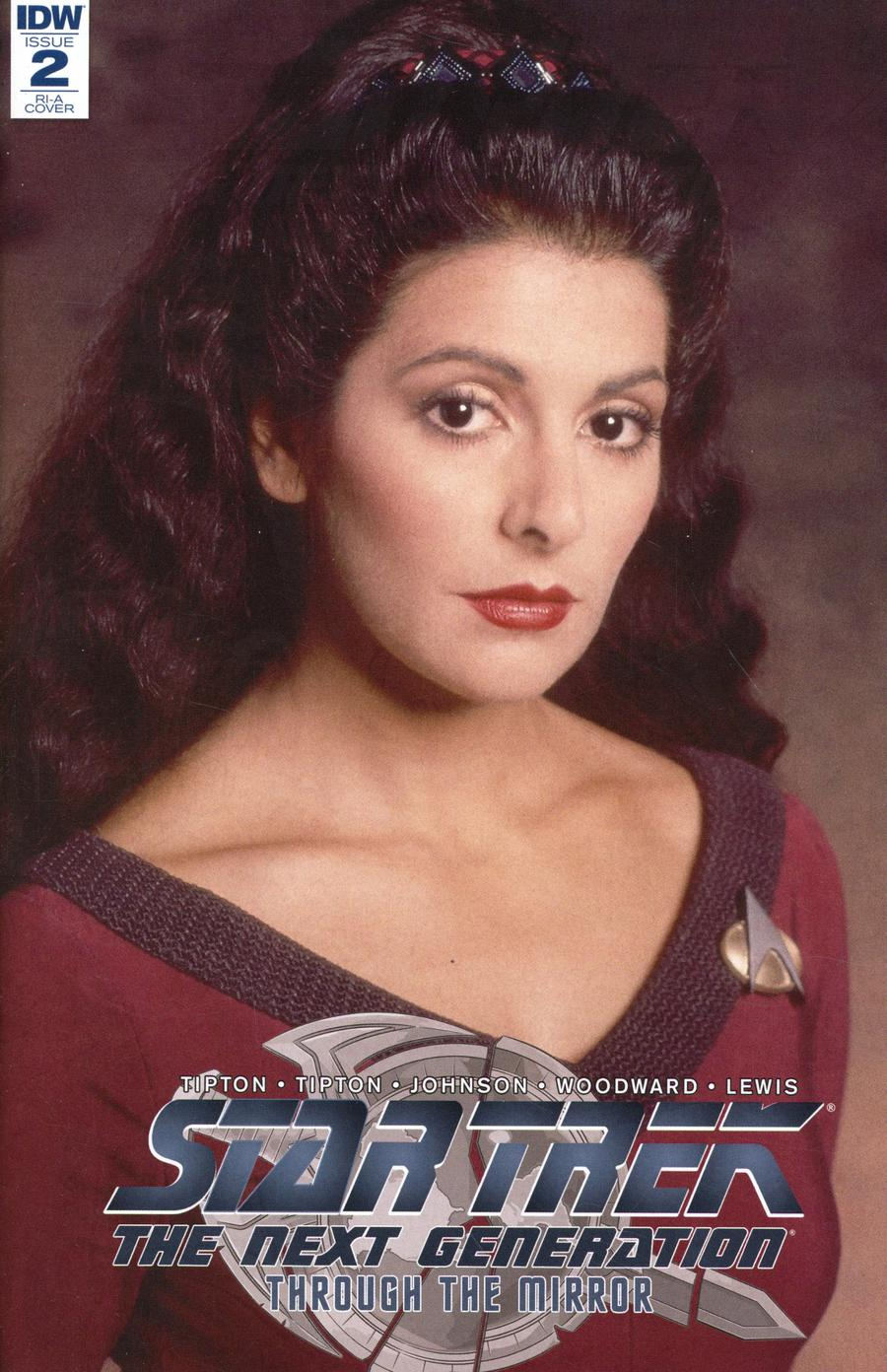 Star Trek The Next Generation Through The Mirror #2 Cover C Incentive Photo Variant Cover