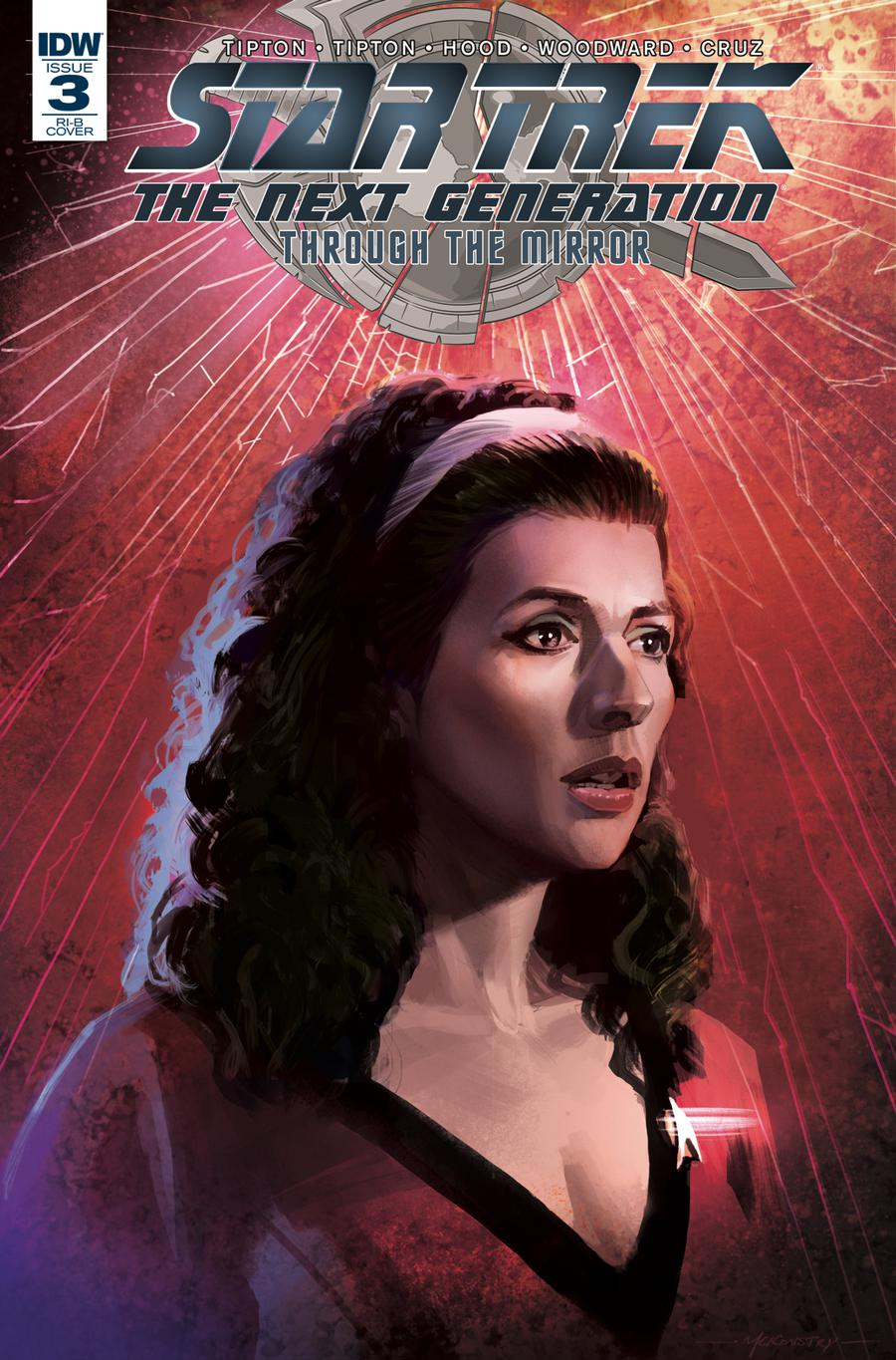 Star Trek The Next Generation Through The Mirror #3 Cover D Incentive Peter McKinstry Variant Cover