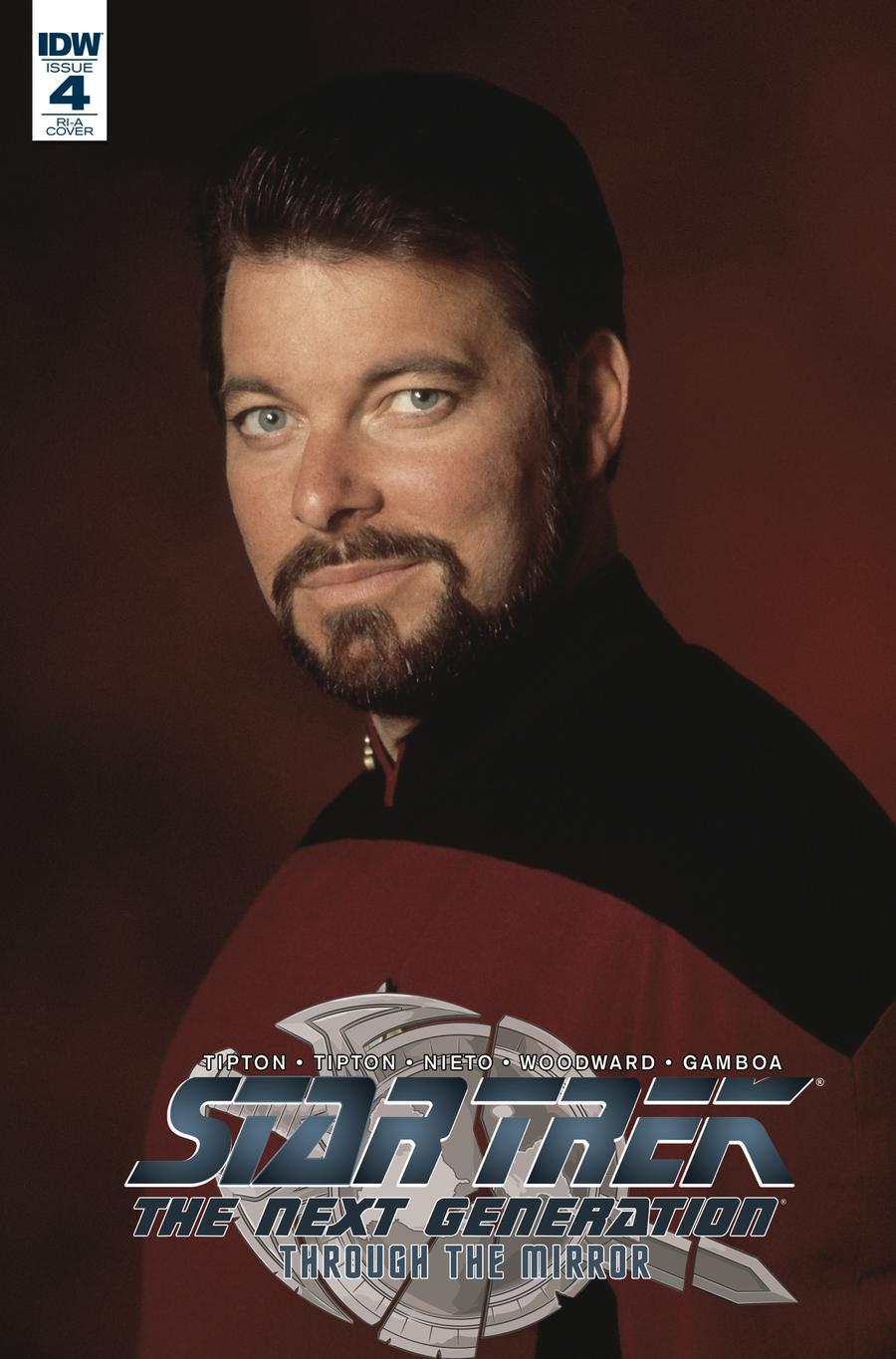 Star Trek The Next Generation Through The Mirror #4 Cover C Incentive Photo Variant Cover
