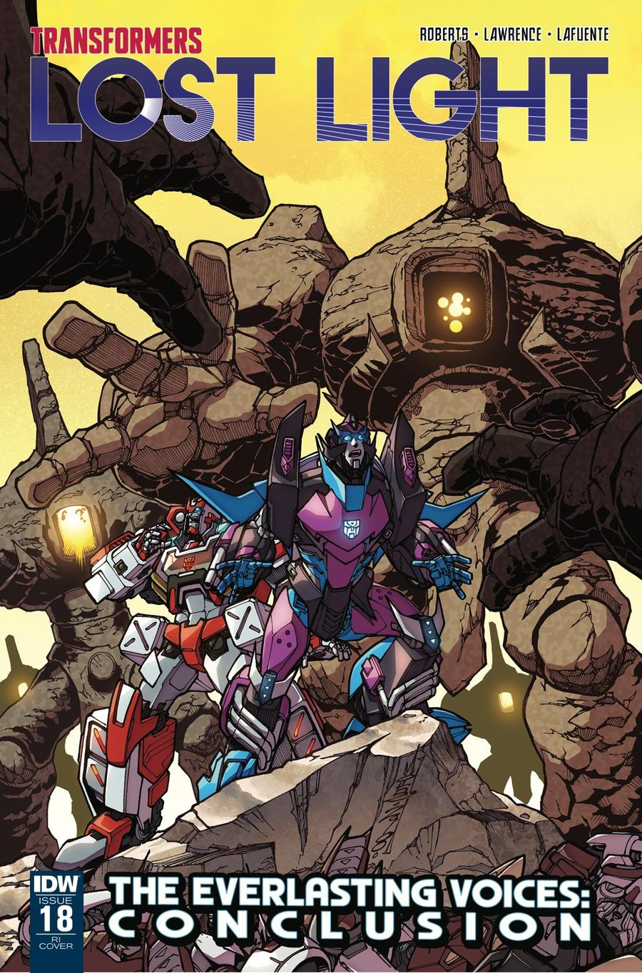 Transformers Lost Light #18 Cover C Incentive Alex Milne Variant Cover