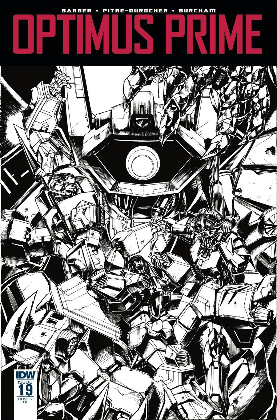 Optimus Prime #19 Cover C Incentive Kei Zama Variant Cover