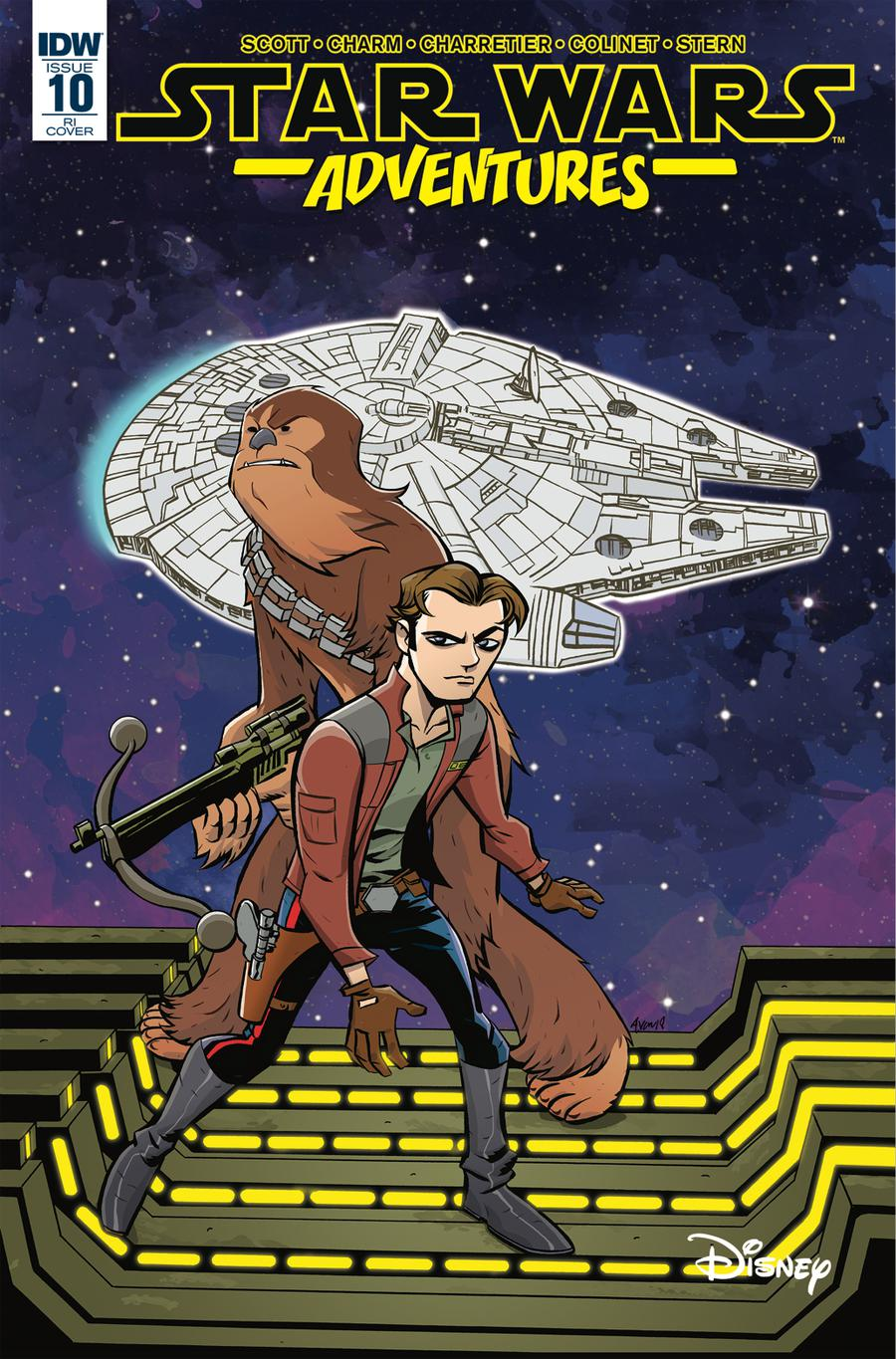 Star Wars Adventures #10 Cover C Incentive Michael Avon Oeming Variant Cover